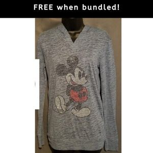 FREE with Purchase Disney Mickey Jeweled Hoodie S